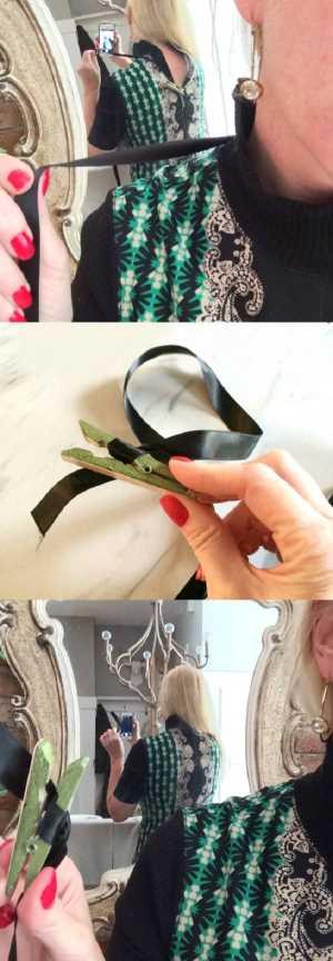 Как самой застегнуть молнию на платье