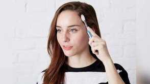 Домашняя укладка волос щеткой