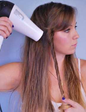 Домашняя укладка волос волнами