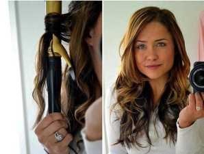 Красивая домашняя укладка волос