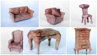 Изделия из человеческой кожи фото 15