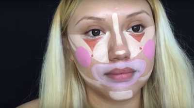 Контурирование лица