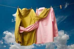 Одежда сохнет