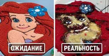 "Торт ""Русалочка"""