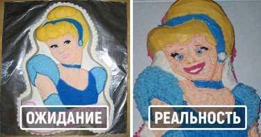 Самые неудачные торты