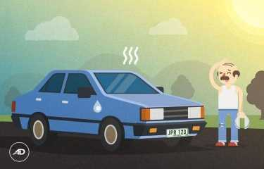 Как охладить автомобиль