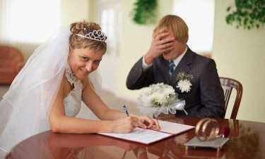 Забавные свадебные снимки