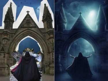 фотошоп до и после фото