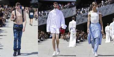 Мужской показ моды