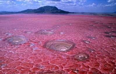 Танзанийское озеро Натрон