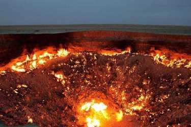 «Врата ада» вТуркменистане