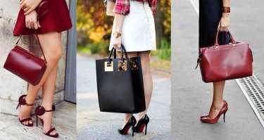 сумочка в цвет обуви