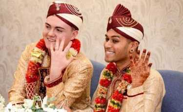 Мусульманская гей-пара