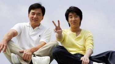 Сын и дочь Джеки Чана