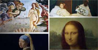 Портреты художников