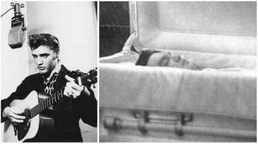 Элвис Пресли, скончался 16 августа 1977 года (42 года)